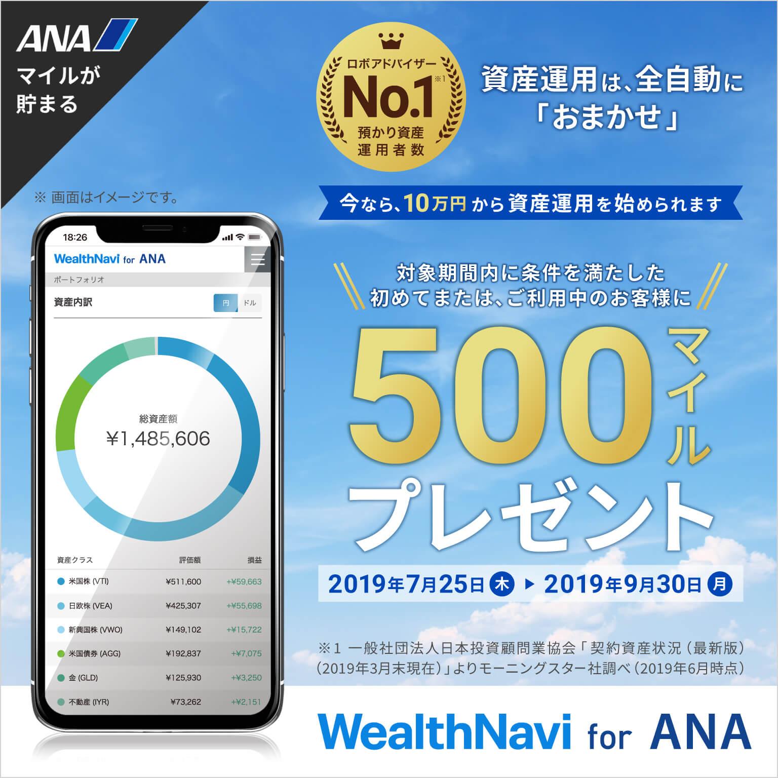 期間限定!最低投資金額10万円記念キャンペーン