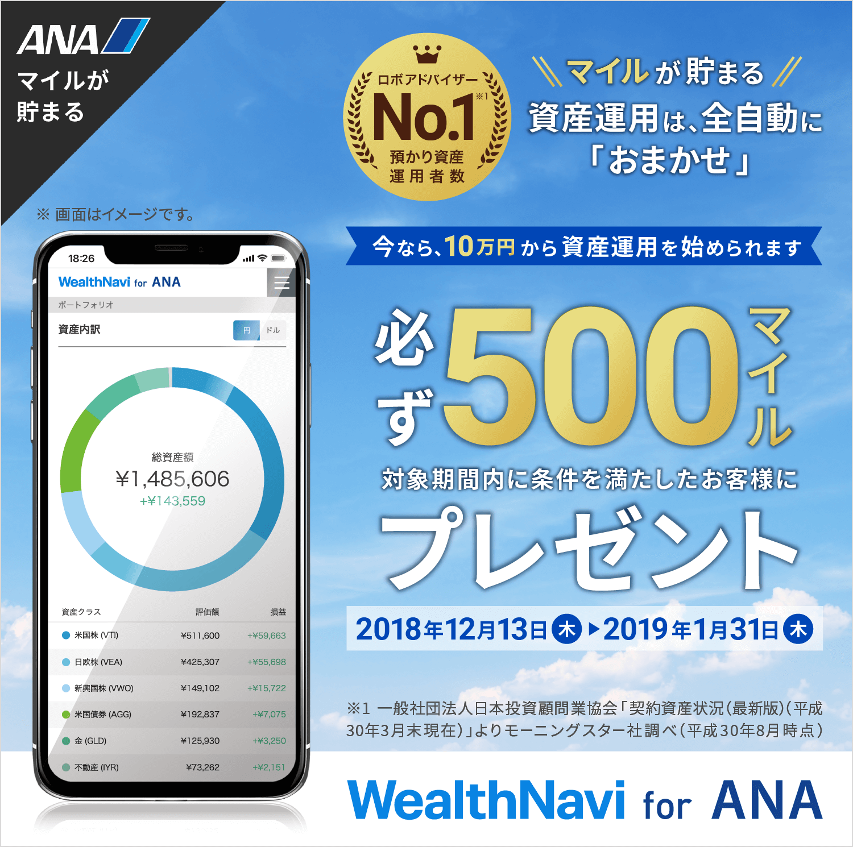 期間限定! 最低投資金額10万円記念キャンペーン