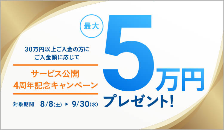 サービス公開4周年記念キャンペーン